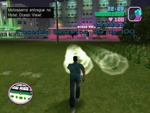 Mod GTA Vice City - 100 Hidden Packages In 1 Place