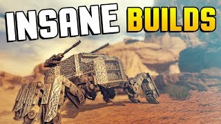 Crossout - INSANE BUILDS! It Might As Well Be A Leviathan! - Crossout Gameplay