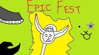 (The Battle Cats) Epicfest 11 Ticket Roll