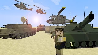 Minecraft Flans mod Ez8's Cold War Vehicle Pack 1.7.10