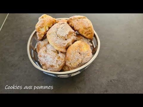 cookies-aux-pommes-/-recette-inratable,-rapide-et-facile.
