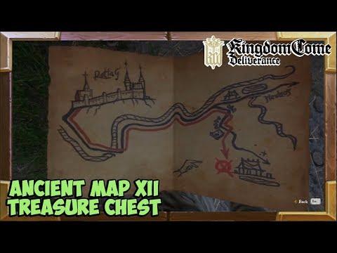 Kingdom Come Deliverance Treasure Map 12 Treasure Location