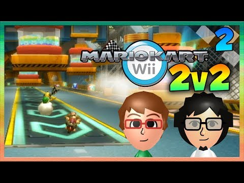 Mario Kart Wii - Troy and Sagar 2v2 - Episode 2: LETS GOOO!