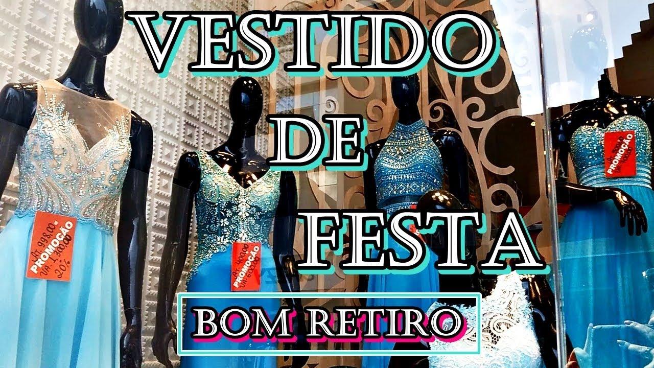 bb4a49403 VESTIDO DE FESTA NO BOM RETIRO
