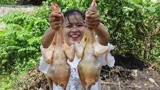 Yummy Cooking Chicken Recipe - Good Chicken Recipe In My Village  - Cooking Skil