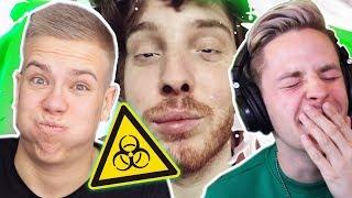 MILCH IST GIFT YouTube KACKE!! Nicht LACHEN CHALLENGE!!