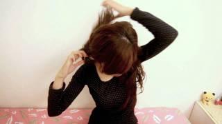 懶人必學-3分鐘解決5款超夯小禮帽髮型!.wmv