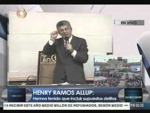 Ramos Allup: Van salir del poder de manera democrática, pacífica y electoral