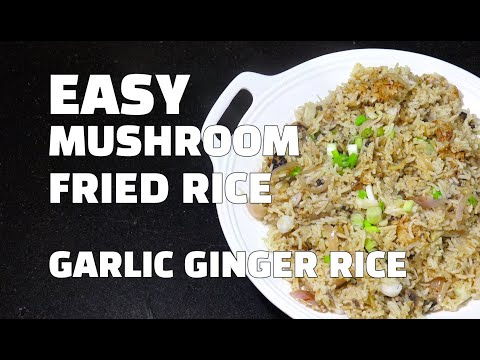 Mushroom Fried Rice - Mushroom Recipes - Fried Rice Youtube