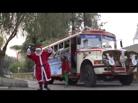 Santa's Factory Express Bus