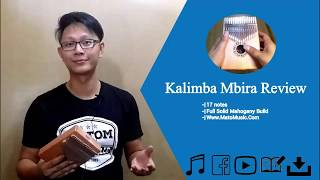 Kalimba Mbira 17 Notes Mahogani Full Solid Review