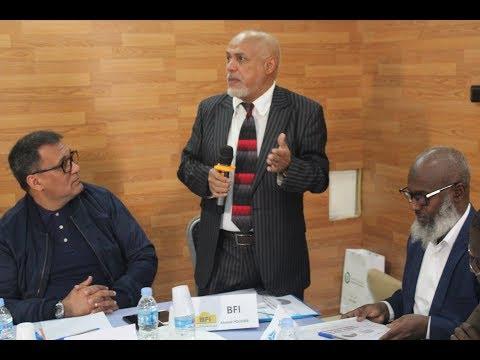 Al Mourabitoun Journal du 23 février Leasing Innovation Seminar Nouakchott 2018 AR