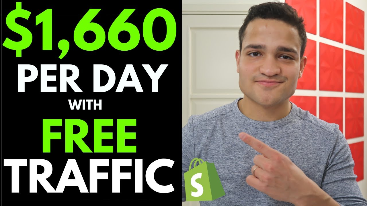 $1,660 PER DAY On Shopify with FREE TRAFFIC: How My Student Made $5.5K With a Viral Facebook Ad 2020
