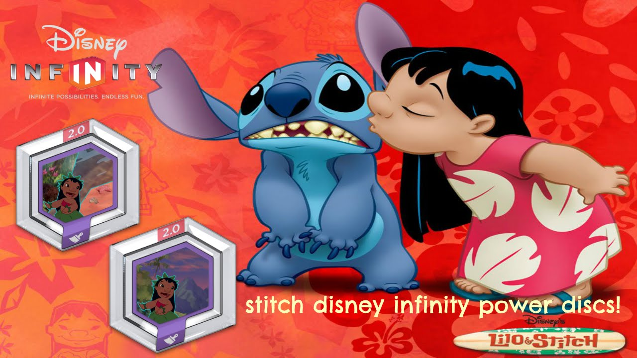 Disney Infinity Lilo Amp Stitch Power Disc Youtube