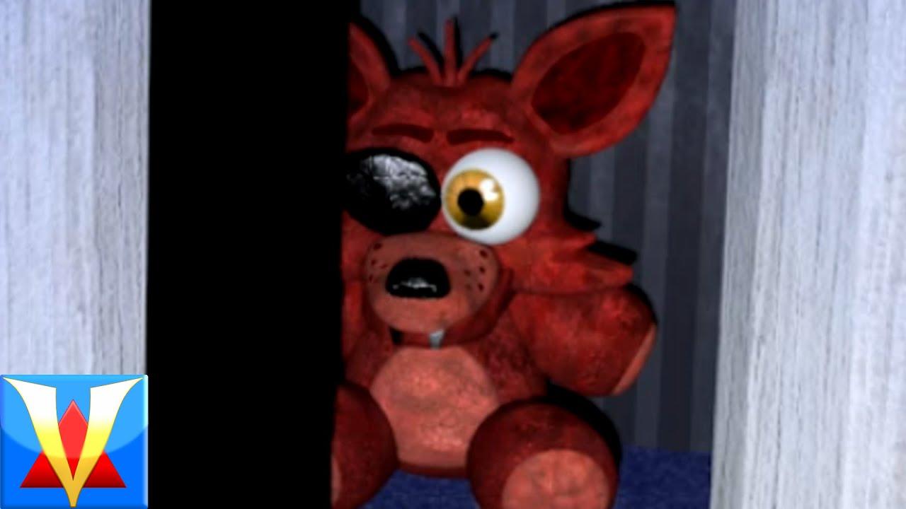 five nights at freddys kleurplaat foxy