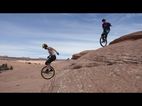 Unofficial Moab Mountain Unicycle Weekend 2015