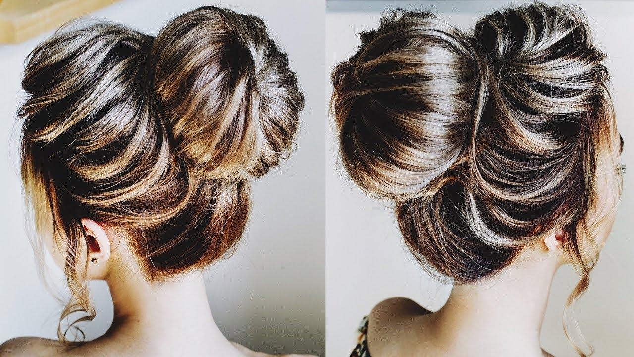 how to style donut bun   textured big bun