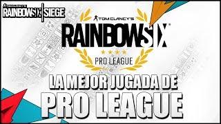 LA MEJOR JUGADA DE PRO LEAGUE QUE VERÁS NUNCA | Caramelo Rainbow Six Siege Gameplay Español thumbnail