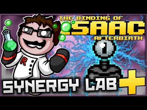 The Binding of Isaac: Afterbirth+ - Synergy Lab: ULTIMATE ELECTRO TURRET! (BEST ONE SO FAR)