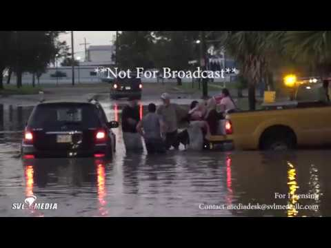 New Orleans, Louisiana - Vehicle Stranded in Storm Surge/Water Rescue   October 8th, 2017