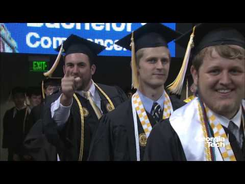 Georgia Tech 2017 Spring Commencement - Afternoon Bachelor's Ceremony Spring 2017