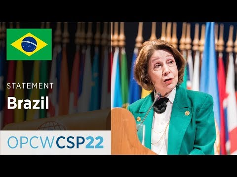 Brazil Statement by Ms Regina Cordeiro Dunlop at CSP-22