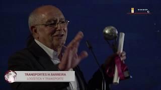 Transportes H. Barreira, Premio Nacional El Suplemento 2018 en Logística y Transporte