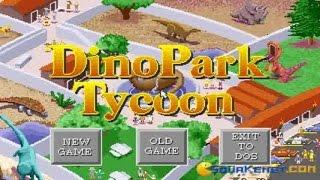 Dinopark Tycoon gameplay (PC Game, 1993)