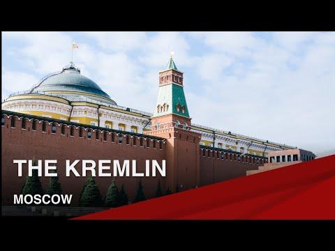Famous Landmarks of Moscow I The Kremlin