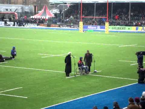 The official opening of Saracens new Allianz Park by Henry Fraser 24.3.13