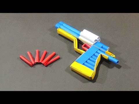 Paper Gun - How To Make A Paper Revolver...