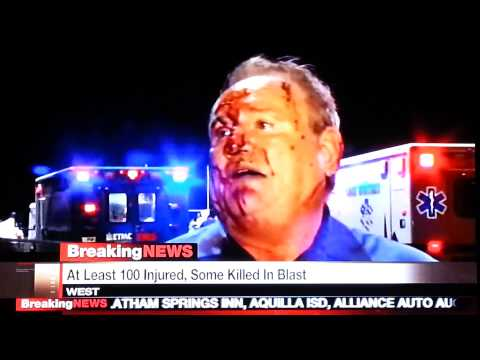 West, Tx explosion - interview on local news