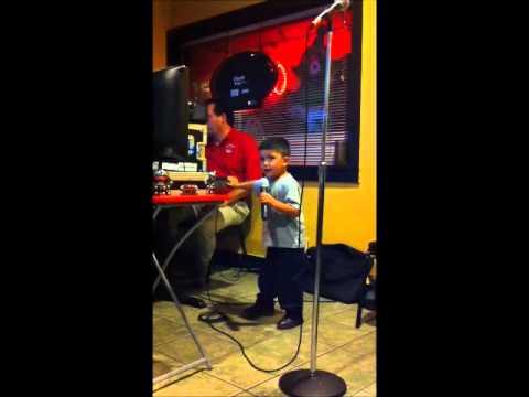 Karaoke Tuesday's - JR Pumps Up The Crowd!!