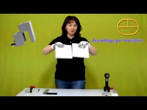 Gabarit de perçage avec viseur: L'assemblage panneaux pour le chant