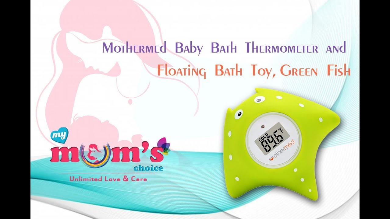 Mothermed Baby Bath Thermometer Floating Bath Toy BathTub and ...