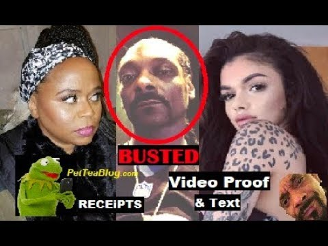 Snoop Dogg Cheated on Wife with Instagram Thot Celina Powell Video 😱💔