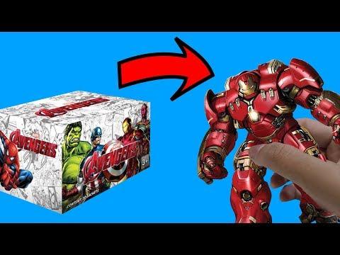 AKHIRNYA BAGIAN KEDUANYA! DAPET HULKBUSTER??? - Avengers 3d puzzle #2