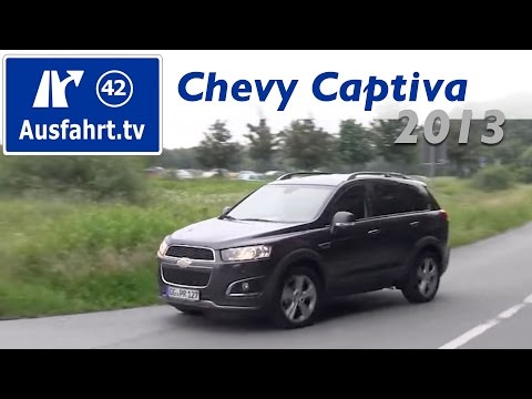 2013 chevrolet captiva ltz 2 2 diesel 4wd fahrbericht. Black Bedroom Furniture Sets. Home Design Ideas