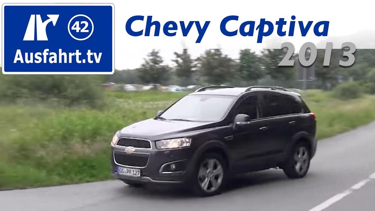 2013 Chevrolet Captiva LTZ 2.2 Diesel 4WD Fahrbericht Einer Probefahrt /  Test / Review