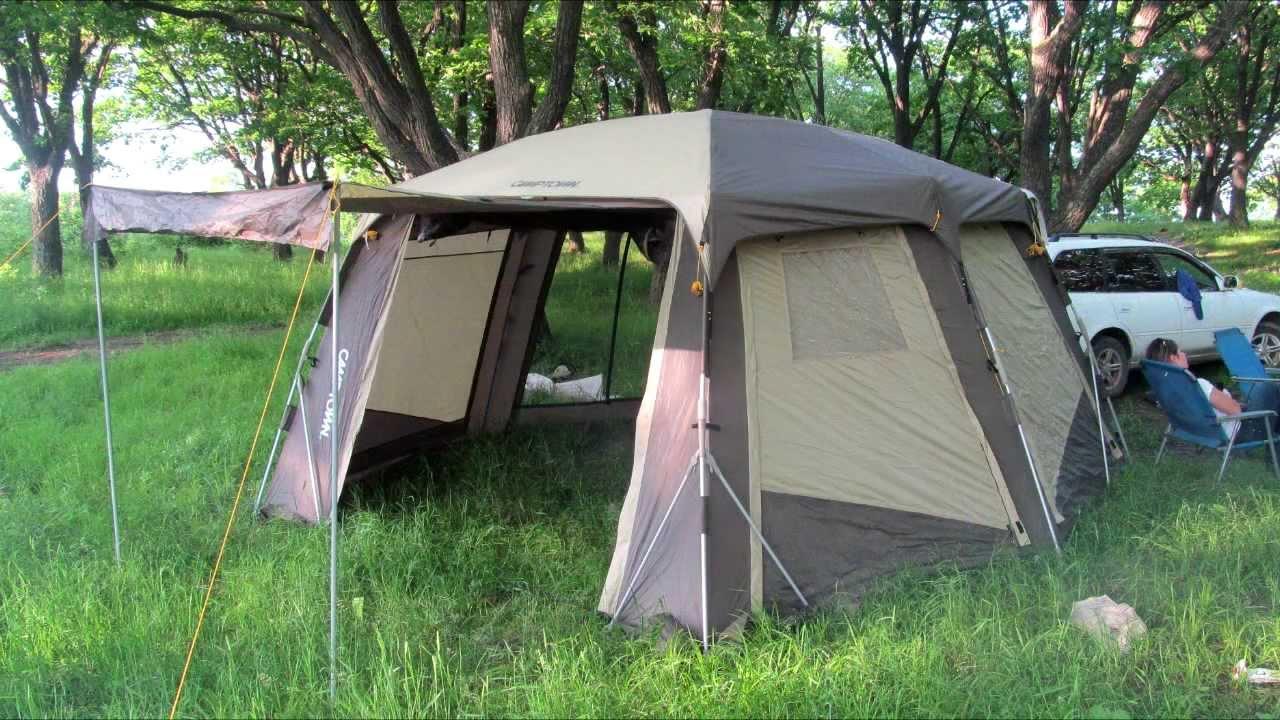 Туристический шатер Maverick Olympia - YouTube