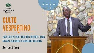 Culto Vespertino (06/09/2020) - Igreja Presbiteriana Itatiaia