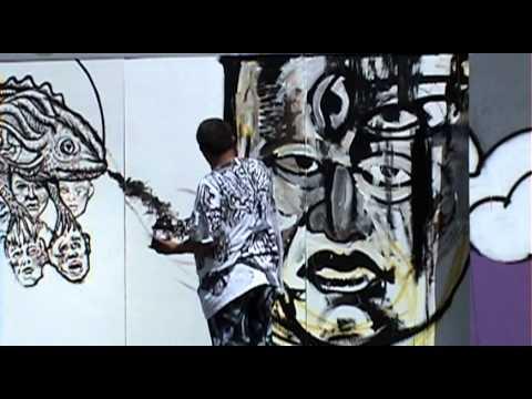 Mural Efimero 2 Ciudad Universitaria Youtube