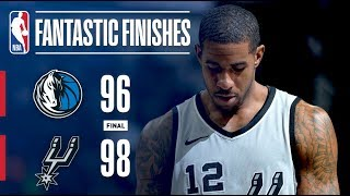 The Spurs Complete AMAZING Comeback With ANOTHER Manu Game Winner vs The Mavericks