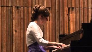 Beethoven Sonata in Bb Major, Op. 22, Mvt. 4 Rondo-Allegretto [Pianist Emily Noatch]