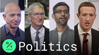 Congress Grills Big Tech CEOs from Amazon, Apple, Google and Facebook Over Competition