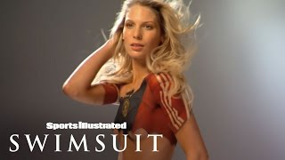 World Cup Body Painting: Sarah Brandner Wearing Nothing But PAINT! | Sports Illustrated Swimsuit