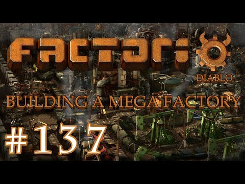 Factorio - Building a Mega Factory: Part 137 Adding more copper and making things run smoother.