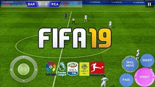 FIFA 19 MOD FIFA 14 Android Offline 900MB New Face Kits 2018-19 & Transfers Update Best Graphics