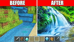 I Made Minecraft Look Like Real Life!
