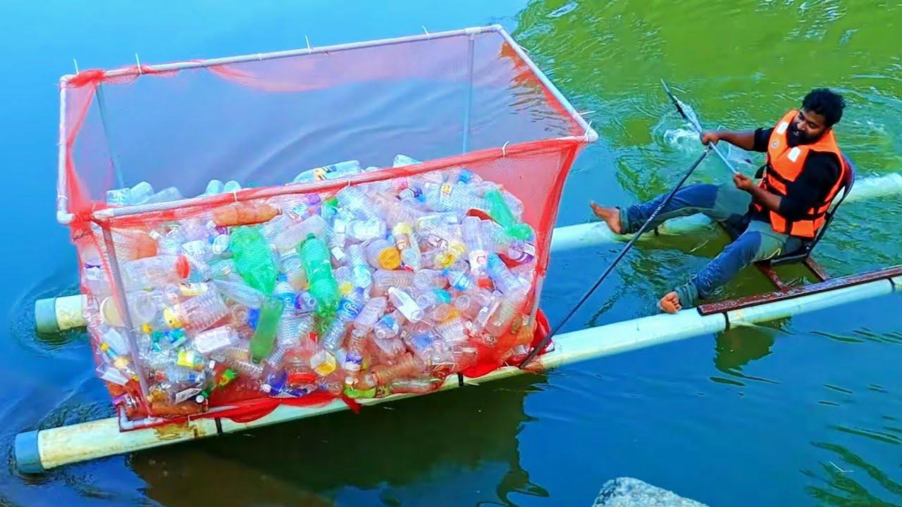 Making Money From River Plastic | പുഴയിലെ പ്ലാസ്റ്റിക് വാരി കോടിശ്വരനായ ഞാൻ | M4 TECH |